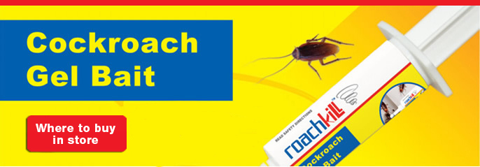 Roach Kill pesticide, DIY cockroach pest control